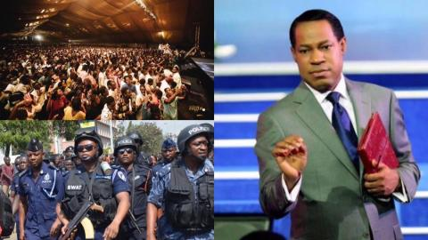 Christ Embassy in trouble as police investigates church for holding mammoth gathering at the Fantasy Dome