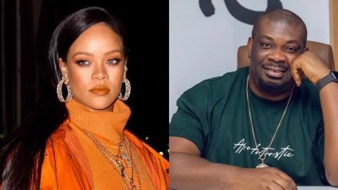 Rihanna rejects Don Jazzy's love proposal [Screenshots]
