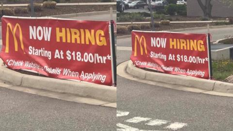 #FixTheCountry: Ghanaians react to job post by McDonald's paying $18 per hour; approximately GH¢24K per month in Ghana