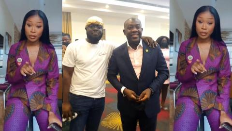"""""""You are a modern-day slave"""" – Efia Odo jabs Kwadwo Sheldon for constantly supporting and defending the NPP government [Details]"""
