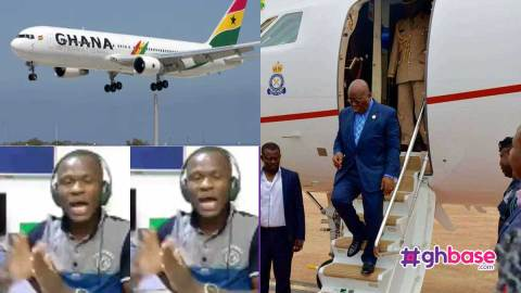 Any expensive jet that will carry Prez Akufo Addo should crush & kill him – Angry Radio Gold presenter says (+VIDEO)
