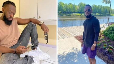 Nigeria's Timaya flaunts new look, as he's shaved his dreadlocks