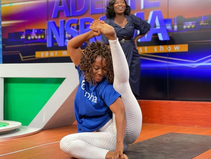 10 mouth-watering Yoga poses that got UTV viewers dumbfounded (+PHOTOS)
