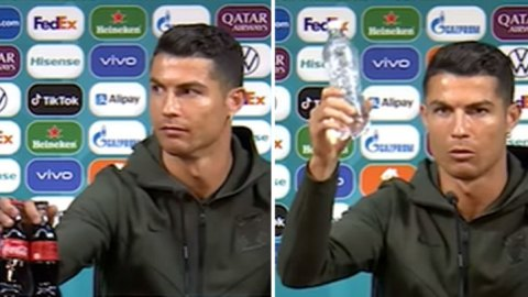 CR7 Effect: Coca-Cola loses $4 billion as Ronaldo removes its bottles and endorses water