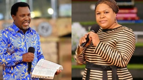 He Never Showed Any Sign Of Illness, He Was Just Sitting In A Chair And Looked Peaceful – TB Joshua's Wife Reveals How He Died