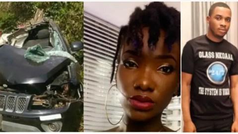 SAD: Throwback video on how Twene Jonas when in Ghana reacted to Ebony's death drops