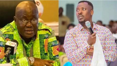 "Video: ""Free SHS is a good idea but it is not working"" – Prophet Nigel Gaisie tells Akufo Addo"