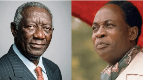 Blame Kwame Nkrumah for Ghana's economic problems – Former Prez Kufuor tells Ghanaians