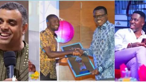 Leave Dag alone! First expose Pastor Mensa Otabil before Dag Heward Mills – Kwame A Plus tells Manasseh Awuni