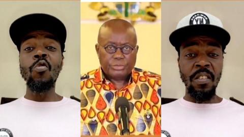 """""""Mr President, things no dey go on well for this country"""" – Kwaw Kese sends interesting Fathers' Day message to Akufo-Addo [Video]"""