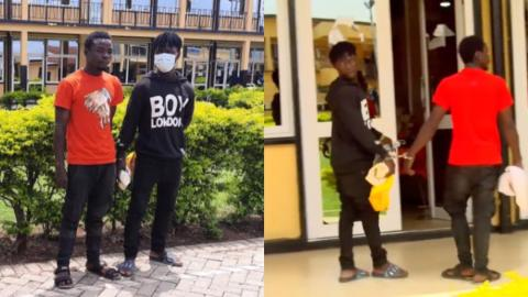 """""""We are sorry for our actions, forgive us"""" – Guys arrested for brandishing guns in viral video apologize in new video; reveal how they got the guns"""