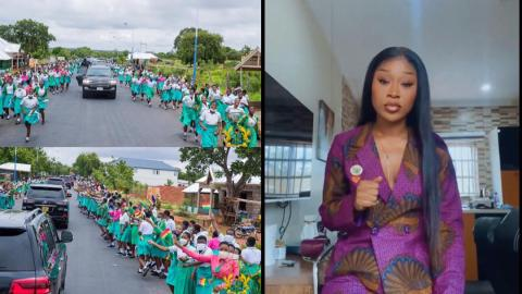 """""""This is hypocrisy, the president is not above the law"""" – Efia Odo expresses disappointment at SHS student parading street to welcome Akufo-Addo"""