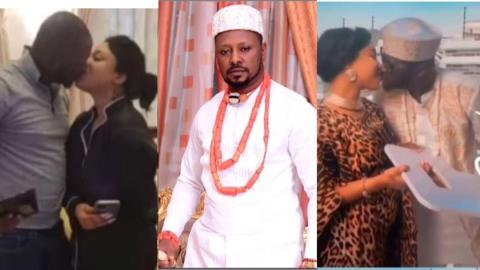 Tonto Dikeh releases WhatsApp chats she had with ex-husband Kpokpogri before voice note went viral