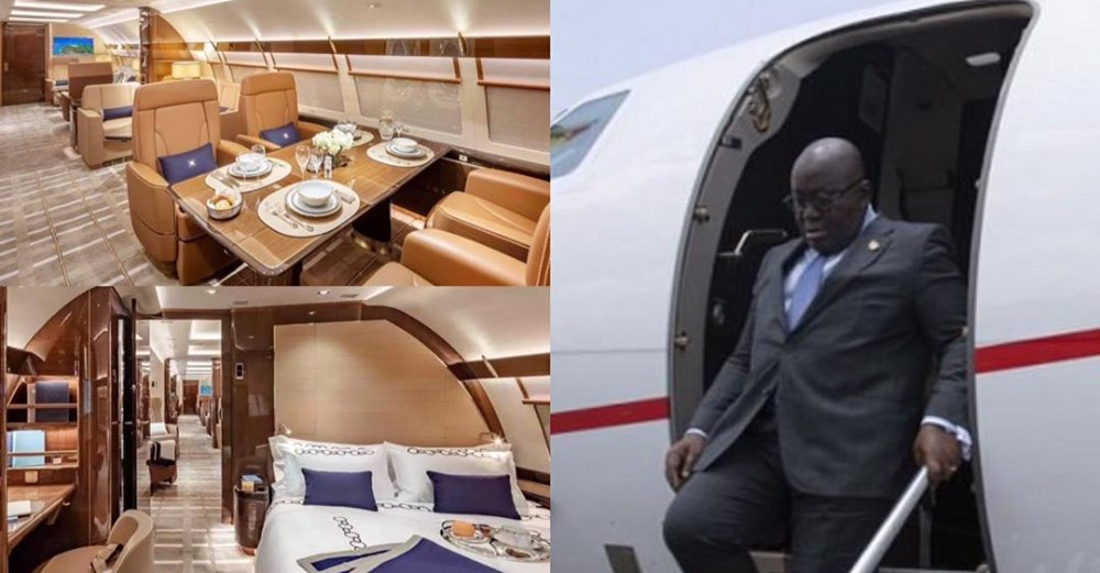 Prez Akufo-Addo succumbs to pressure, travels in Presidential jet after  luxurious private jet brouhaha » GhBase•com™