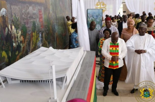 """""""Ketoa Biaa Nsoa"""" – Gov't encourages Ghanaians to contribute GH¢100 each towards the construction of the National Cathedral"""
