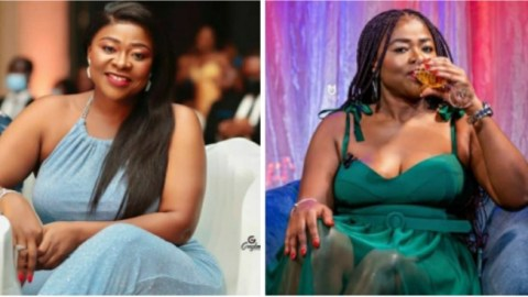 What behavior is this?? 3 Children with 3 Different Fathers – Netizens Rebuke Actress Portia Asare For Marrying Again