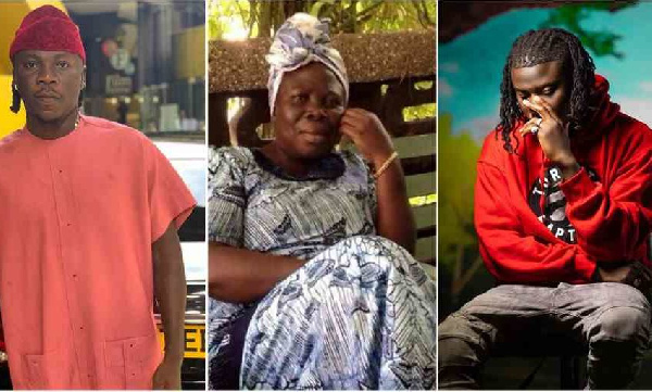Stonebwoy Celebrates The 6th Anniversary Of His Mother's Demise, Says He's Building A Mansion To Honour Her