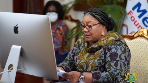 First Lady Rebecca Akufo-Addo finally refunds all allowances paid her GH¢899,097.84 to the state, receipt drops