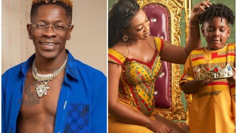 Michy suggests Shatta Wale doesn't pay their son's school fees? See the fight she just had with SM fans