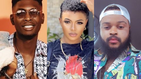 BBNaija 2021: Whitemoney, Liquorose, And Sammie Applaud For Their Impressive Performance In The First Task