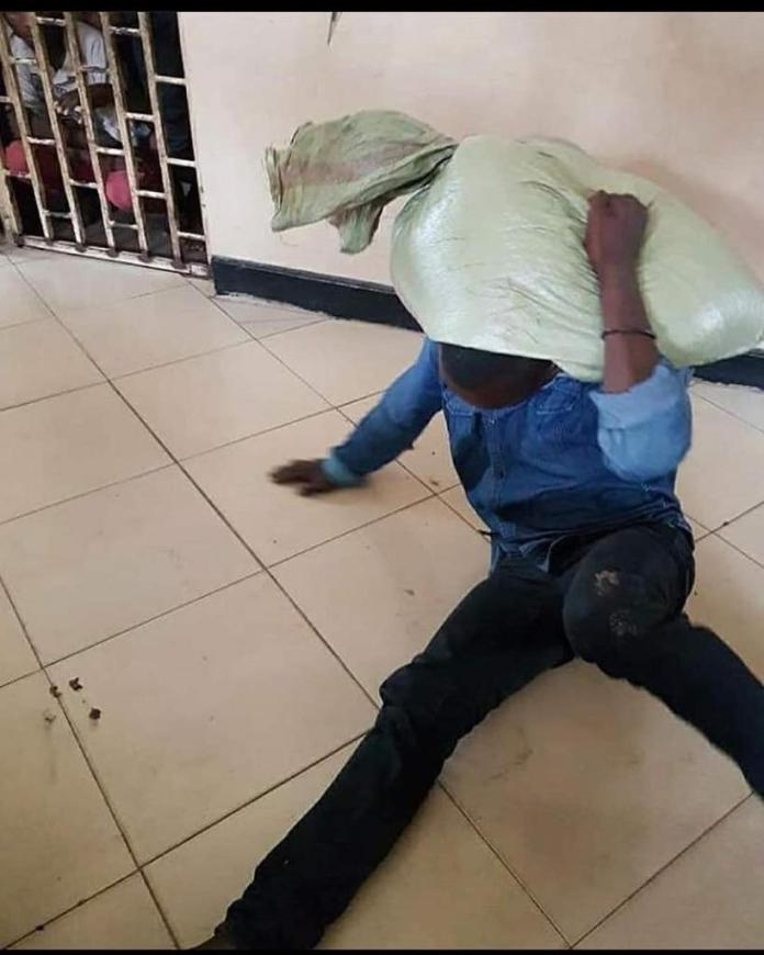 Funny: Thief Reports Himself To The Police After He Couldn't Bring Down A Bag Of Maize He Stole. 52