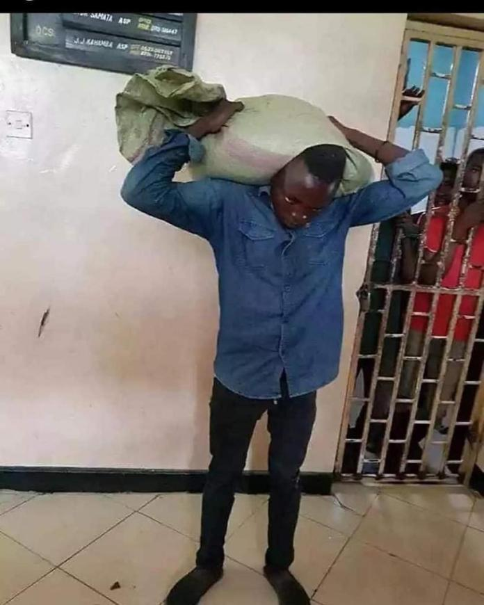 Funny: Thief Reports Himself To The Police After He Couldn't Bring Down A Bag Of Maize He Stole. 51