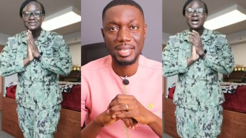 (+VIDEO) See The Beautiful Message Ameyaw Debrah's Wife Sent Him To Mark His 40th Birthday