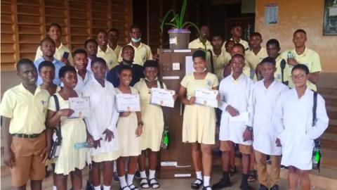 Photos: Gyaama Pensan SHTS wins 2021 Ashanti Region SHS Renewable Energy Challenge