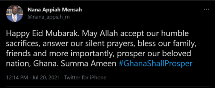 Screenshot 2021 07 20 at 13 27 04 Nana Appiah Mensah on Twitter