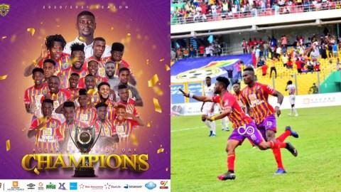 Official: Accra Hearts of Oak win Ghana Premier League Title 2021