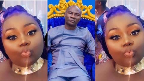 """""""My father is a Prophet, he is not your village Herbalist"""" – Prophet Badu Kobi's daughter Jessie Kobi defends dad, goes hard on critics"""