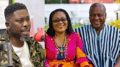 """""""Leave Mahama and wife alone, go chase after other First Ladies to return their allowances"""" – Kwame A Plus bares teeth at NPP"""