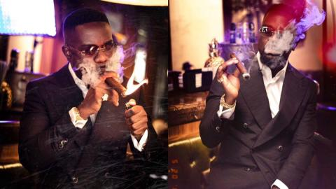 """""""You are a negative influence to the youth"""" – Sarkodie in hot waters as CSOs chase him for his constant smoking of cigar [Details]"""