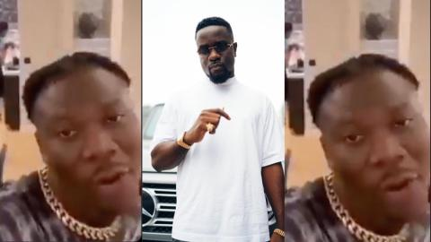 """""""I do not ride on hype to be relevant like some other artiste does"""" – Stonebwoy shades Sarkodie in latest video"""