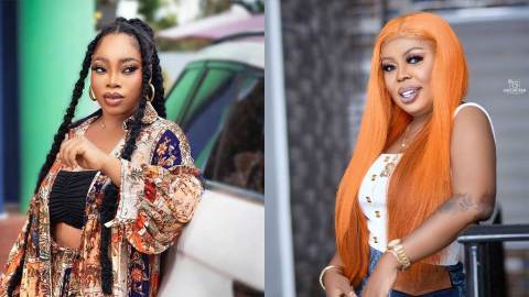 Afia Schwar blasts Moesha Boduong over report that she's being kicked out of her 5 bedroom apartment (+Video)