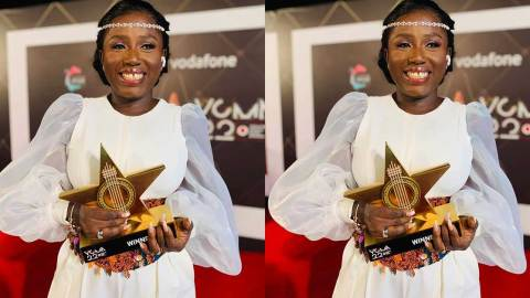 Diana Hamilton responds to Mr Logic's comment that she shouldn't have won VGMA Artist of the Year (+VIDEO)