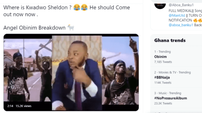 """Angel Obinim Sparks Ghanaians With The Breakdown Of Black Sherif's """"Second Sermon"""", Trends #1 On Twitter 1"""