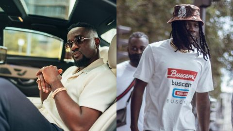 Sarkodie Clarifies His Current Relationship With Stonebwoy (video)