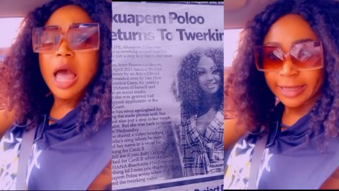 Akuapem Poloo Blasts Daily Guide For Their Publication About Her Returning To Tw3king (video)