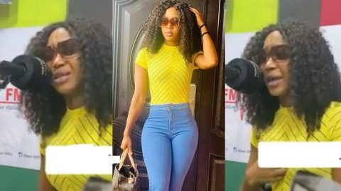 Akuapem Poloo Weeps As She Reveals Some Celebrities Tried Sabotaging Her Spot In Her Nigerian Reality Show