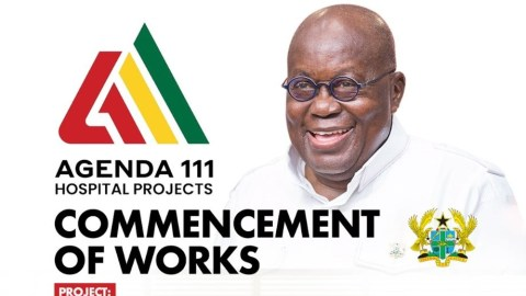 Agenda 111 is Ghana's biggest investment in the healthcare sector ever – President Akufo-Addo