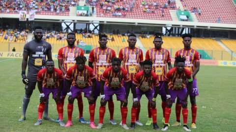 Hearts Of Oak complete season's double by beating AshantiGold on penalties to win the MTN FA Cup