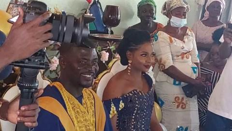 Coach of Accra Hearts Oak, Samuel Boadu marries long time sweetheart (Video/Photos)