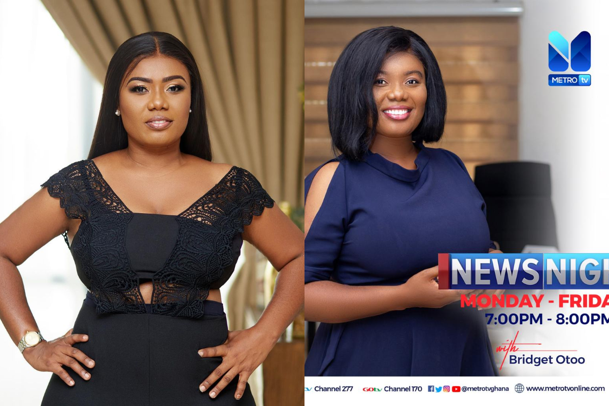 Bridget Otoo Reinstated By Metro TV After Allegedly Being Sacked