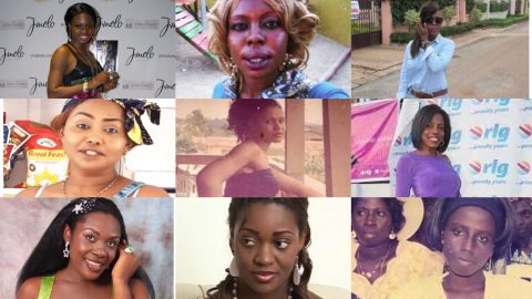 Before And After Photos Of Your Favourite Ghanaian Female Celebrities You Probably Have Not Seen
