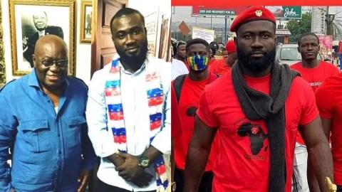 Akufo-Addo betrayed as his former confidante Okatakyie Afrifa Mensah joins #FixTheCountry demo, sends message [Video]