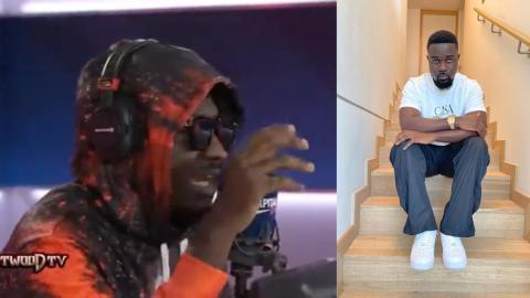 """""""He is the rapper to replace Sarkodie"""" – Social media react to Amerado's rap freestyle on Tim Westwood TV [Video]"""