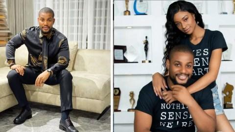 Alexx Ekubo and fiancee Fancy Acholonu reportedly split 3 months to their wedding