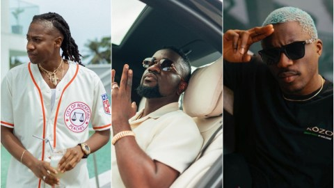 'The two of you don't respect, I'll definitely deal with you when I return to Ghana'- Sarkodie tells Dee Money and Joey B