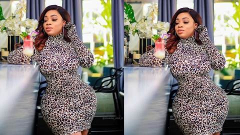 Throwback photo of born again slay queen Moesha Boduong surfaces online